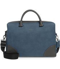 men's ted baker london dayof briefcase - blue