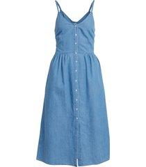 klänning vifanzi midi strap denim dress