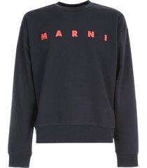 marni logo classic sweatshirt