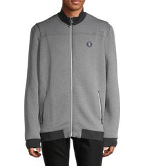 original penguin men's boxy-fit track jacket - caviar - size xxl