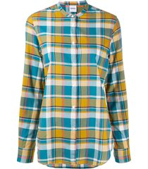 aspesi relaxed fit shirt - yellow