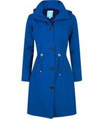 happyrainydays regenjas coat bente blue-xxl