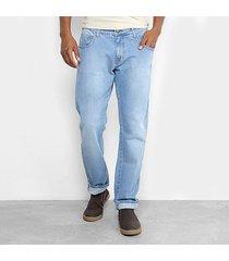 calça jeans slim forum masculina