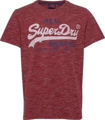 vl premium goods tee t-shirts short-sleeved röd superdry