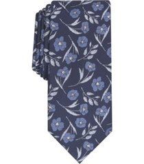 bar iii men's horizon skinny floral tie, created for macy's
