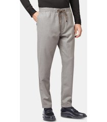 boss men's kirio relaxed fit virgin wool trousers