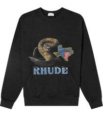 black rattlesnake sweatshirt
