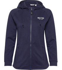 jacket francesca francesca hoodie blå björn borg