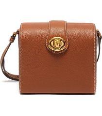 'cupola' leather box shoulder bag
