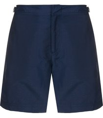 orlebar brown tailored swim shorts - blue