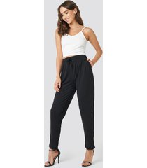 trendyol milla trousers - black