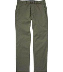 pantalón carter stretch chino verde oscuro billabong