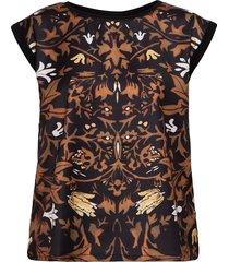 fqgene-ss-rammy blouses short-sleeved svart free/quent