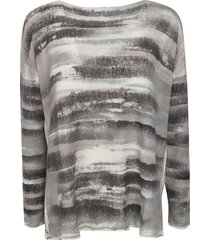 f cashmere long-sleeved oversized top