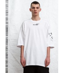 t-shirt giant tee white