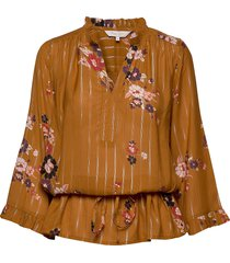 adalie bl blouse lange mouwen bruin part two