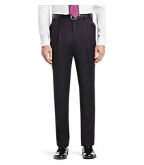 signature gold collection traditional fit dress pants - big & tall clearance by jos. a. bank