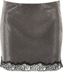 philosophy di lorenzo serafini micro crystal mini skirt