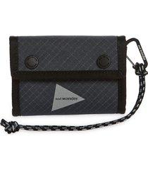 men's and wander reflective ripstop wallet - grey