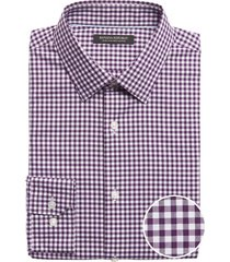 camisa slim fit non iron morado banana republic