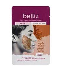 máscara facial desintoxicante com argila vermelha belliz | belliz | u