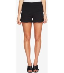 1.state ruffle-hem welt-pocket shorts