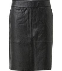skinnkjol cuberta leather skirt