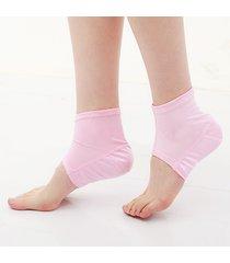 1 paio di silicone protezione della caviglia pad anti-crack supporto sportivo calze a tacco umidità cura del piede