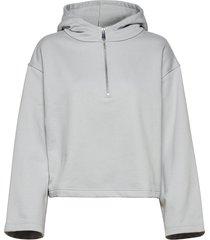 hella roomy hoodie trui blauw blanche