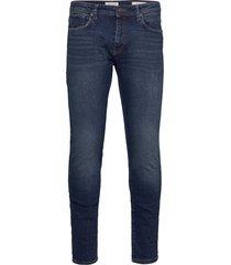 slhslim-leon 3004 d.blue st jeans j noos slimmade jeans blå selected homme