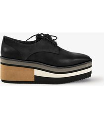 zapato negro amphora annia