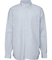 lived-in stretch poplin shirt skjorta casual blå gap