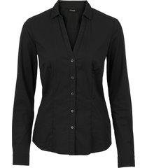 camicia elasticizzata (nero) - bodyflirt