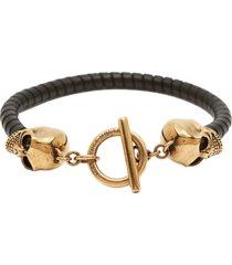alexander mcqueen bracelet skull