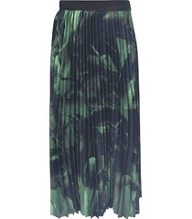 off-white greenbrush stroke skirt