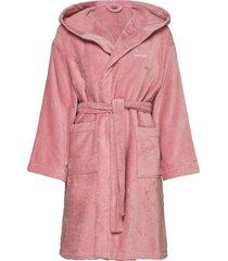 light velour robe morgonrock badrock rosa gant