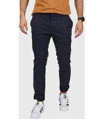 pantalón  azul levi's 510 chino - olive