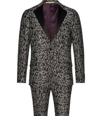 2153karlsen- bloch kostym svart bertoni