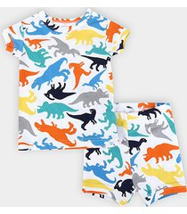 conjunto pijama infantil gap dinossauro masculino
