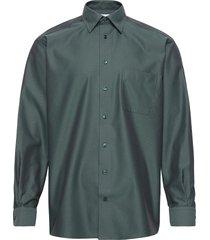 classic fit business casual signature twill shirt overhemd business groen eton