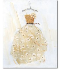 """courtside market ball gown i 16"""" x 20"""" gallery-wrapped canvas wall art"""