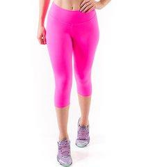 calça mama latina corsário suplex rosa