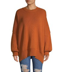 free people women's easy street tunic - violet - size xs