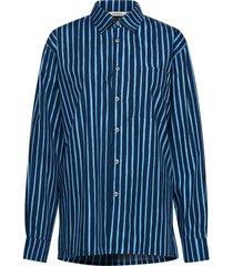 jokapoika 2017 shirt overhemd met lange mouwen blauw marimekko
