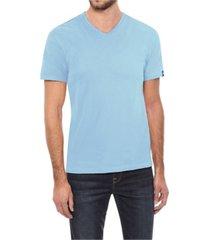 men's basic v-neck short sleeve t-shirt
