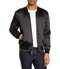 men's paige adams tipped bomber jacket