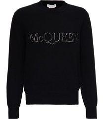 alexander mcqueen crew neck pullover