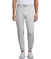hurley men's relaxed joggers - grey - size m