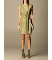 federica tosi dress federica tosi short leather dress