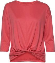 t-shirt 3/4-sleeve r t-shirts & tops long-sleeved rood gerry weber edition